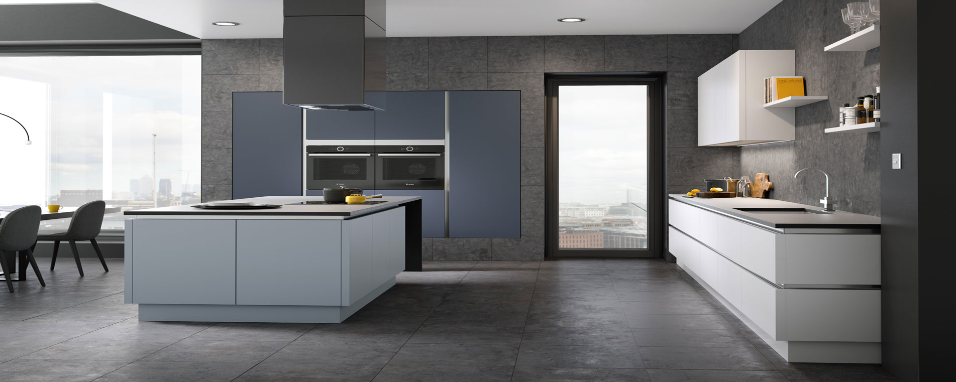 Mereway Kitchens Cucina Colore Kitchens English Revival Kitchens